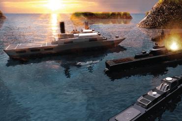 Submarine simulator